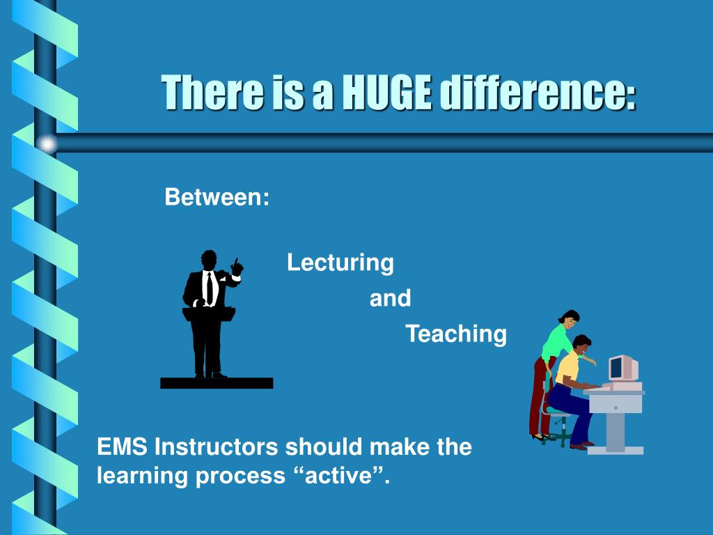 There is a HUGE difference:
