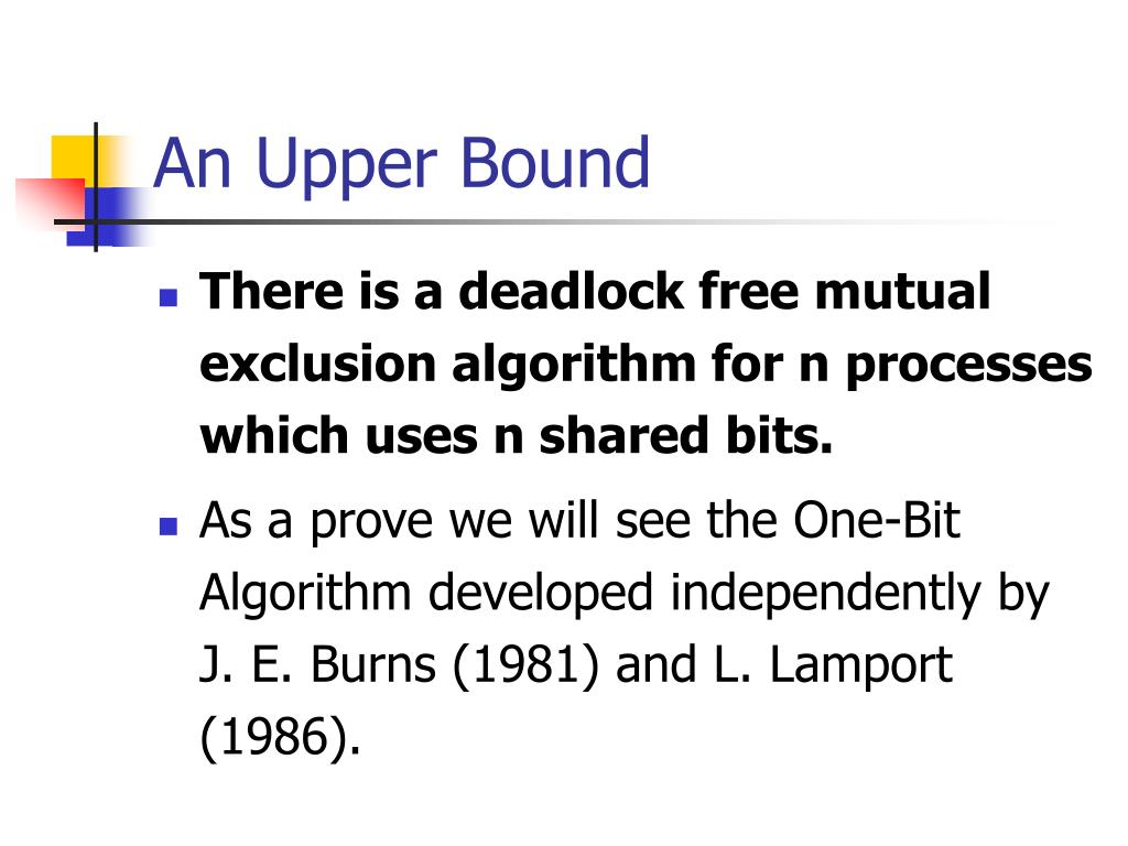 An Upper Bound