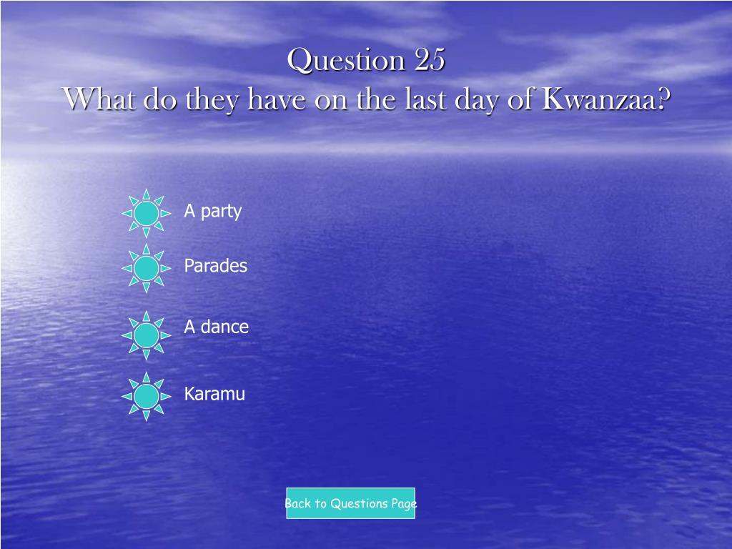 Question 25