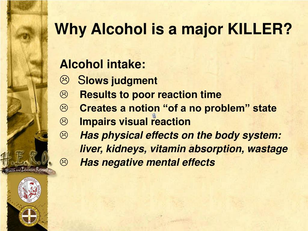 Why Alcohol is a major KILLER?