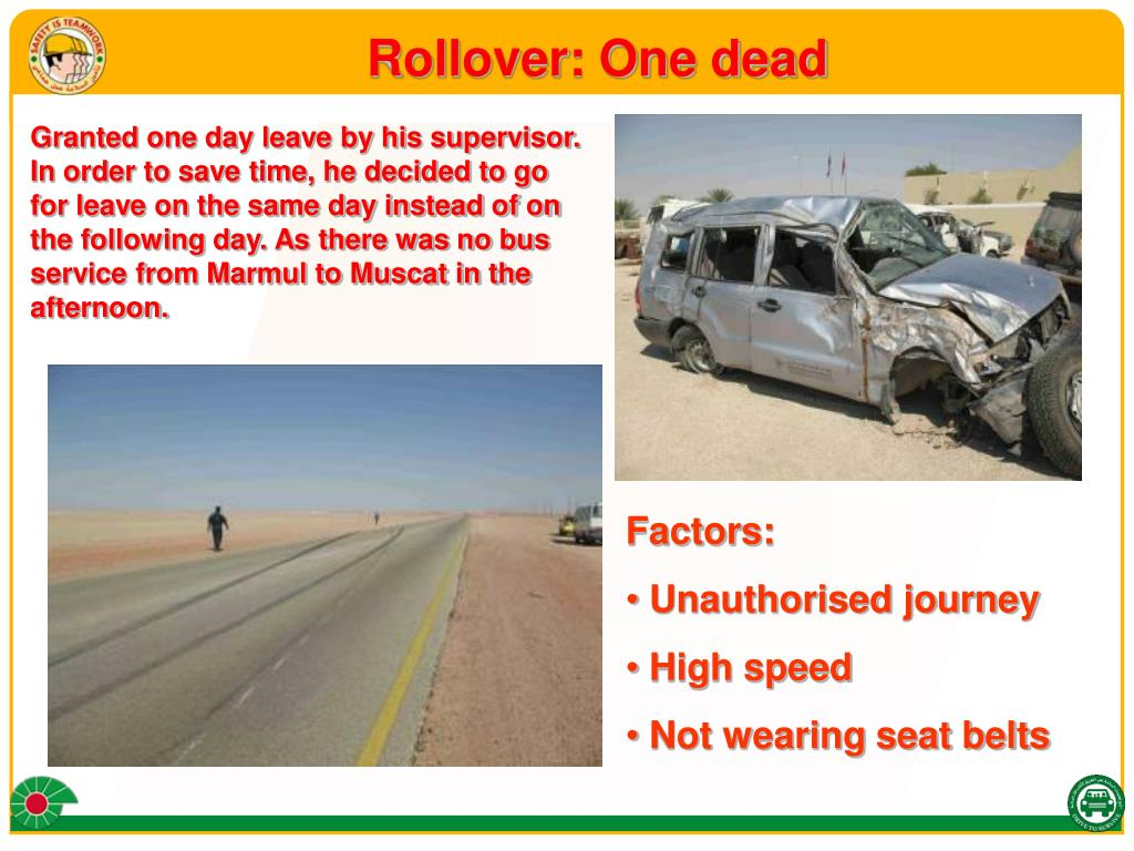 Rollover: One dead