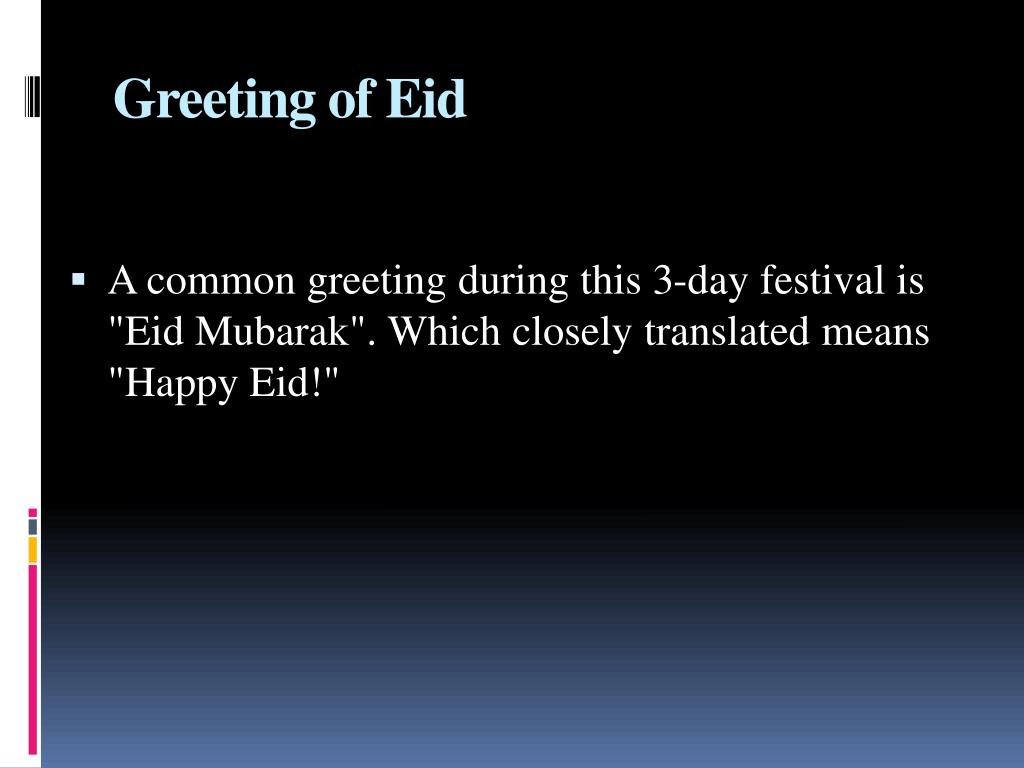 Greeting of