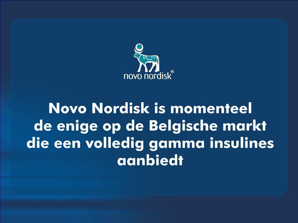 Novo Nordisk is momenteel
