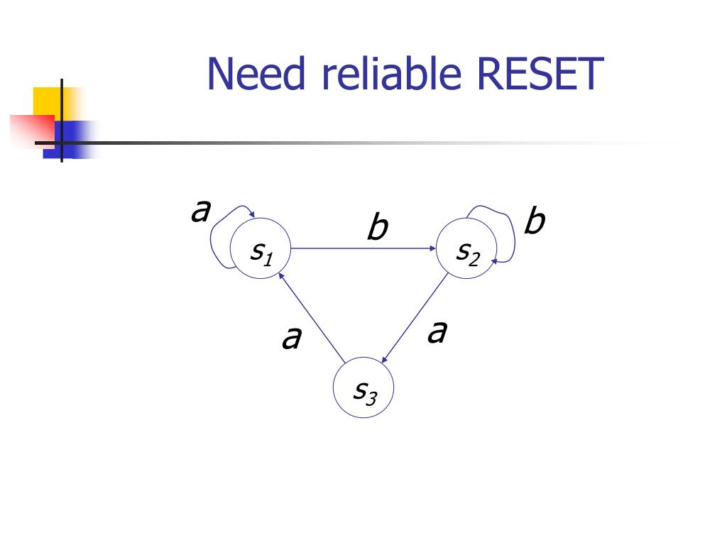 Need reliable RESET