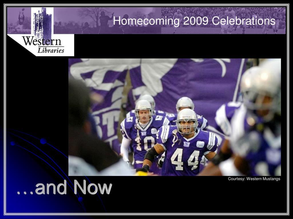 Homecoming 2009 Celebrations