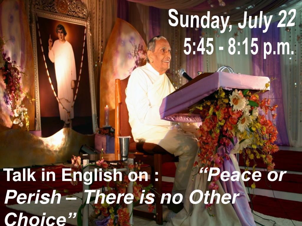 Sunday, July 22