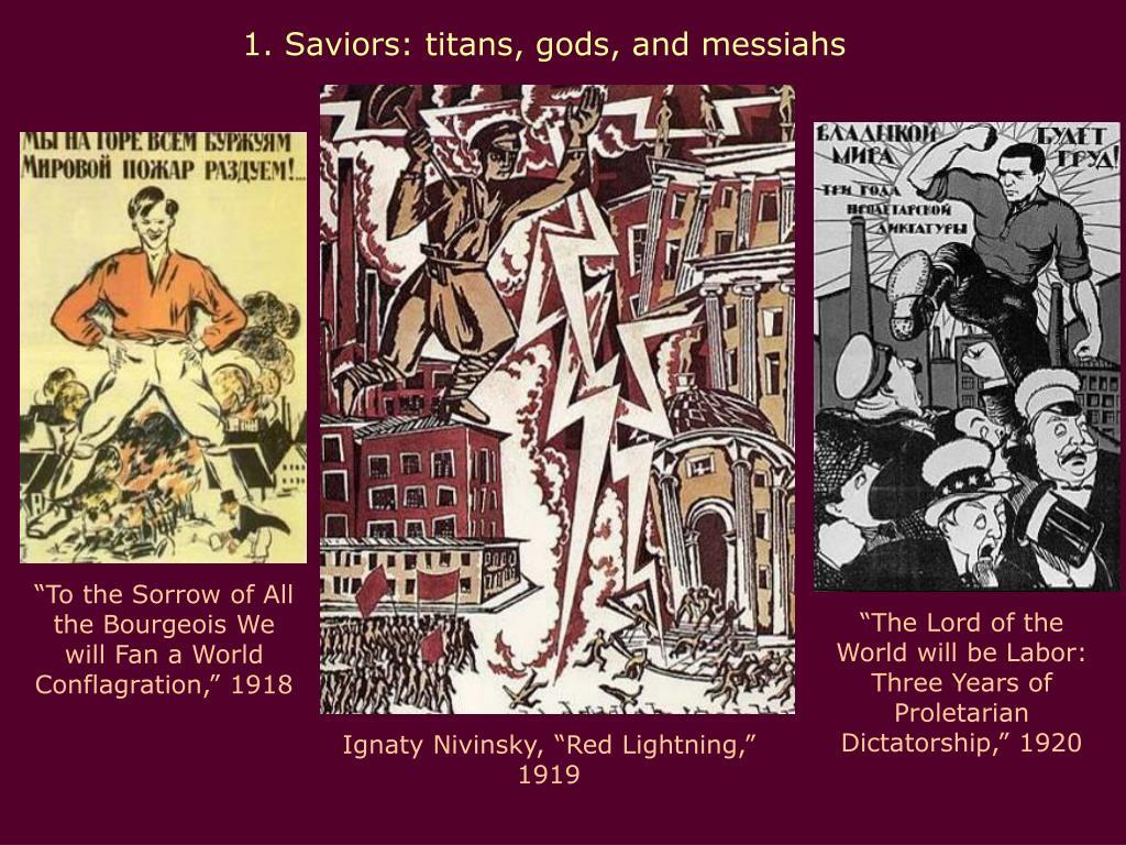1. Saviors: titans, gods, and messiahs