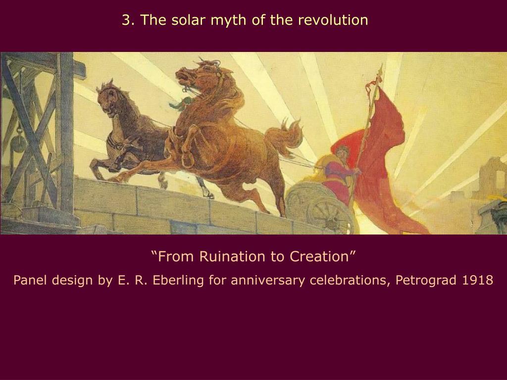 3. The solar myth of the revolution