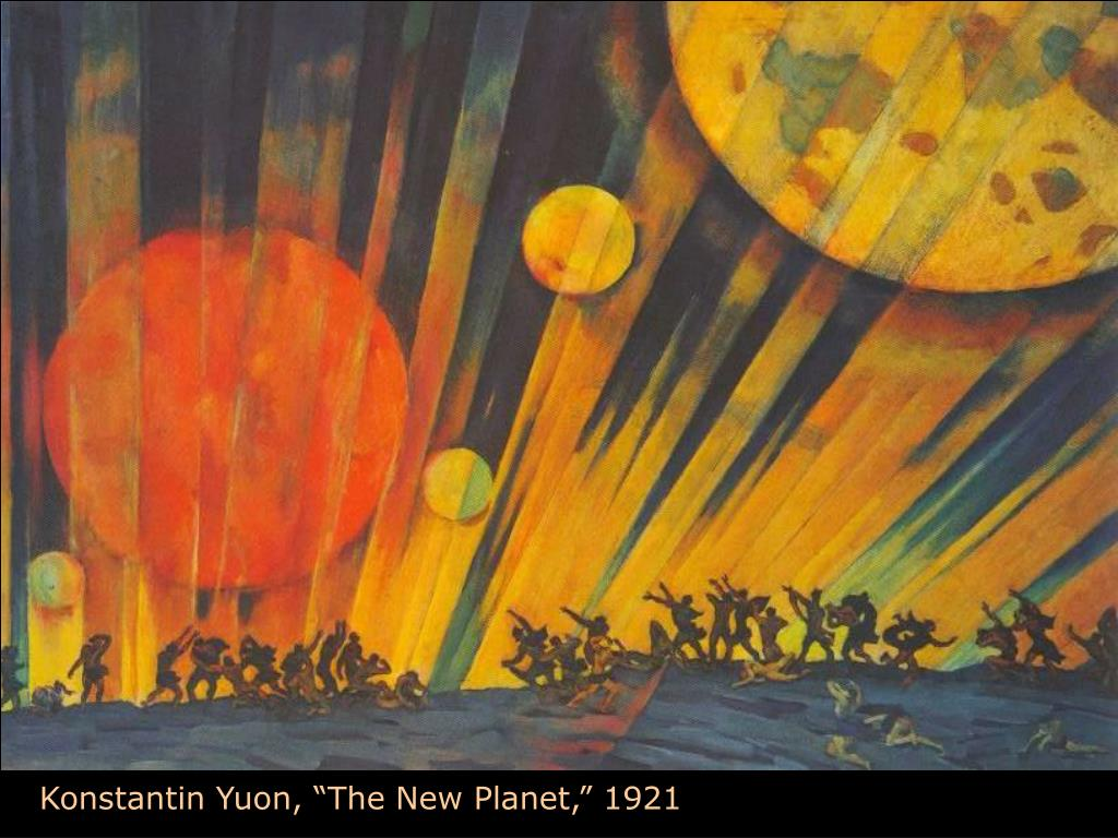 "Konstantin Yuon, ""The New Planet,"" 1921"