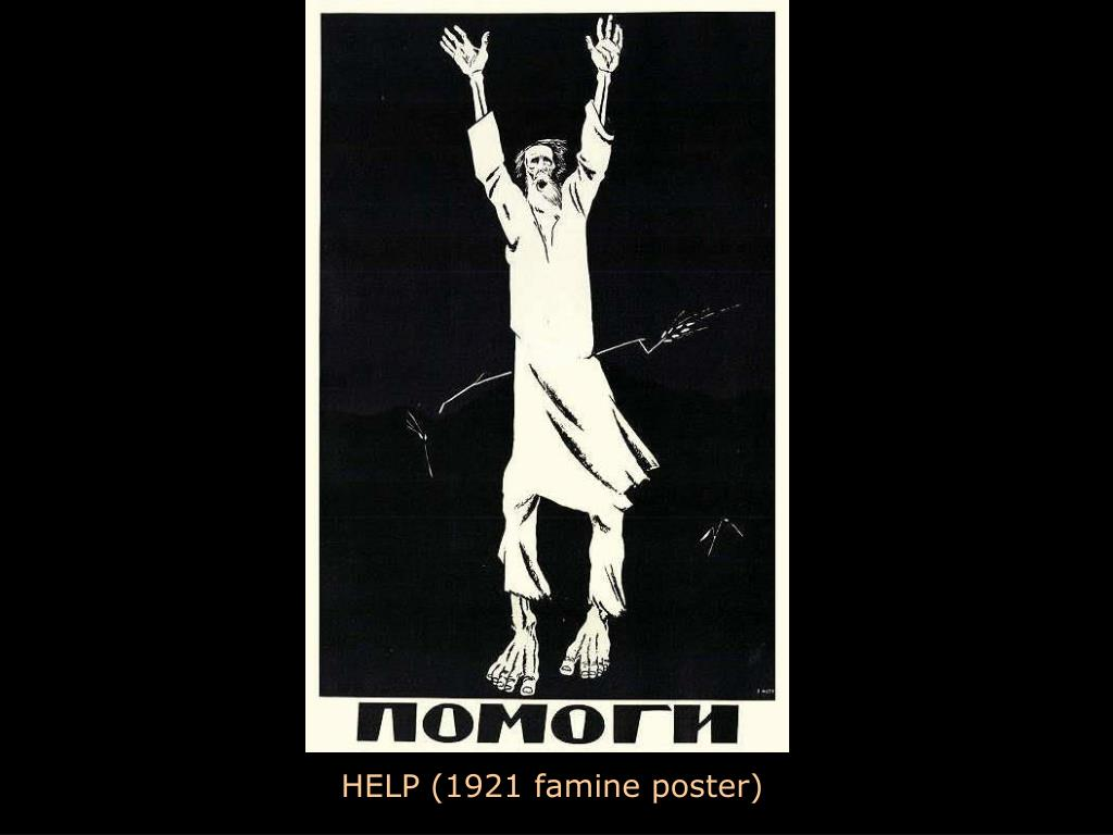 HELP (1921 famine poster)