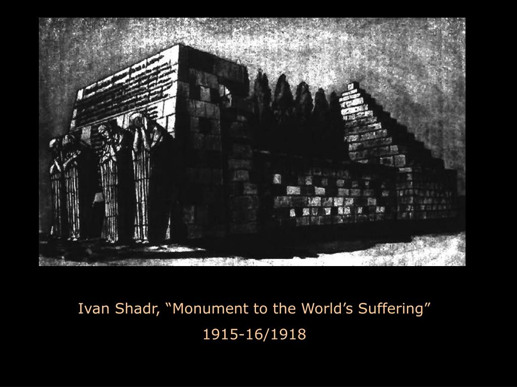 "Ivan Shadr, ""Monument to the World's Suffering"""