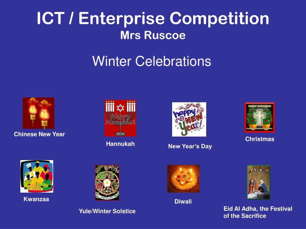 ICT / Enterprise Competition