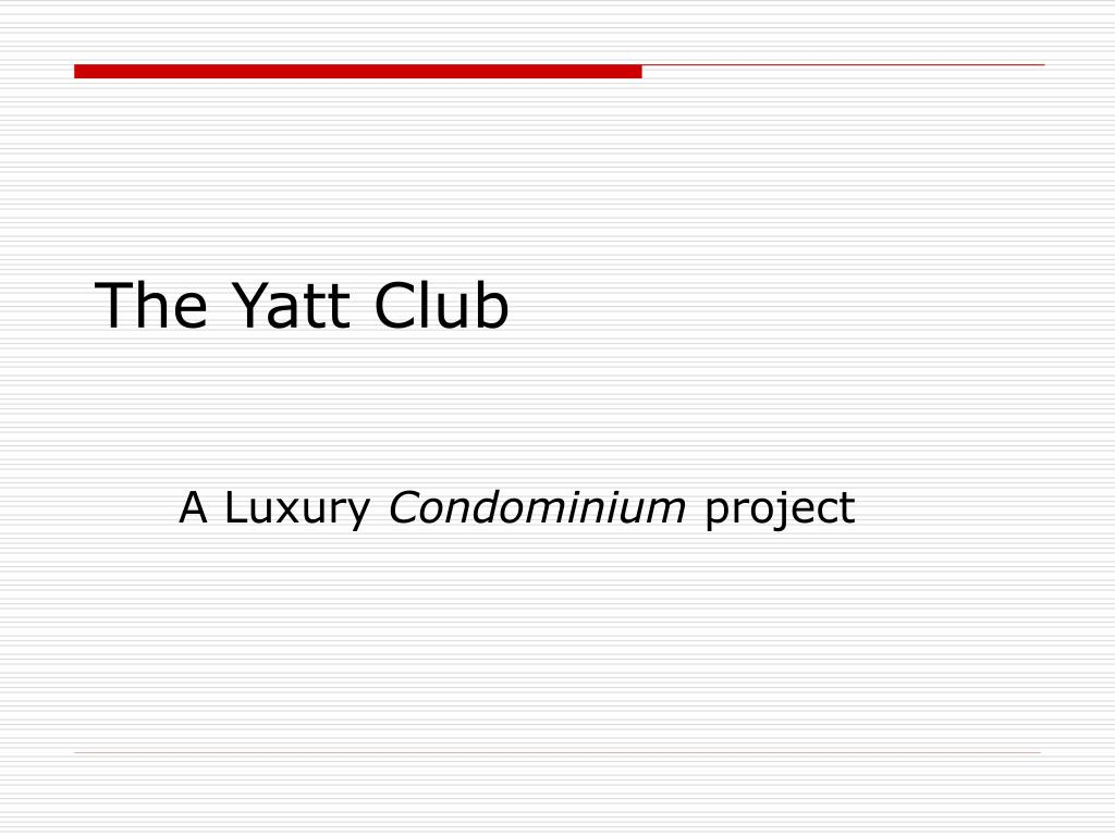 The Yatt Club