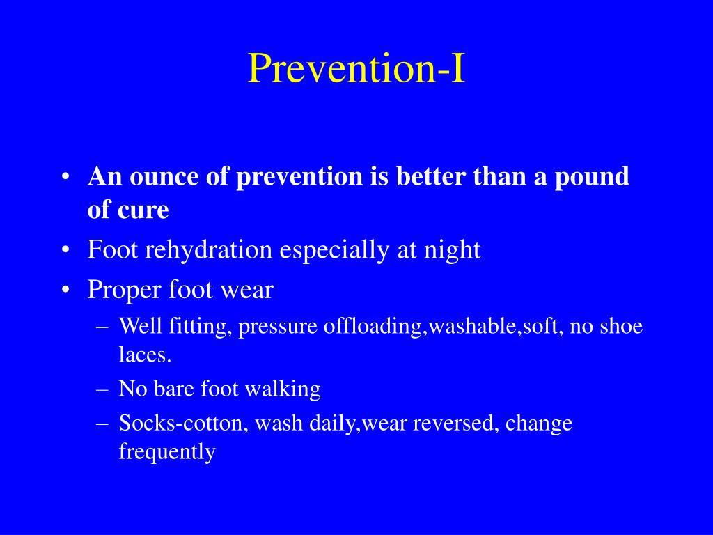 Prevention-I