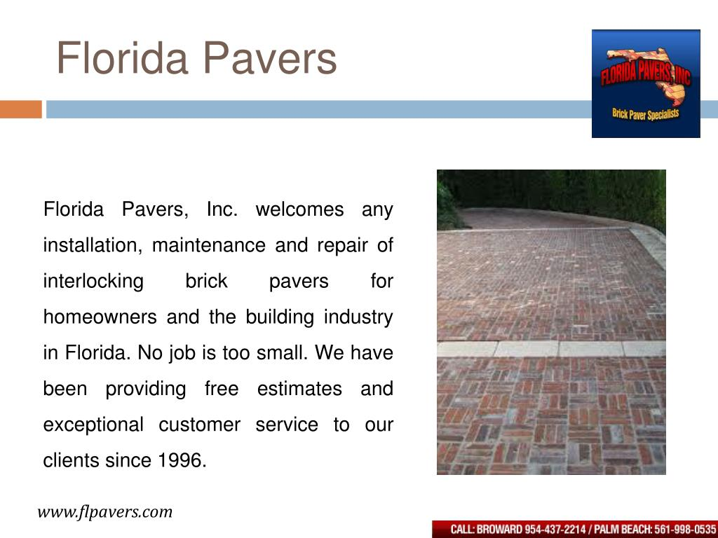 Florida Pavers
