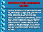goa public health amendment act 200512