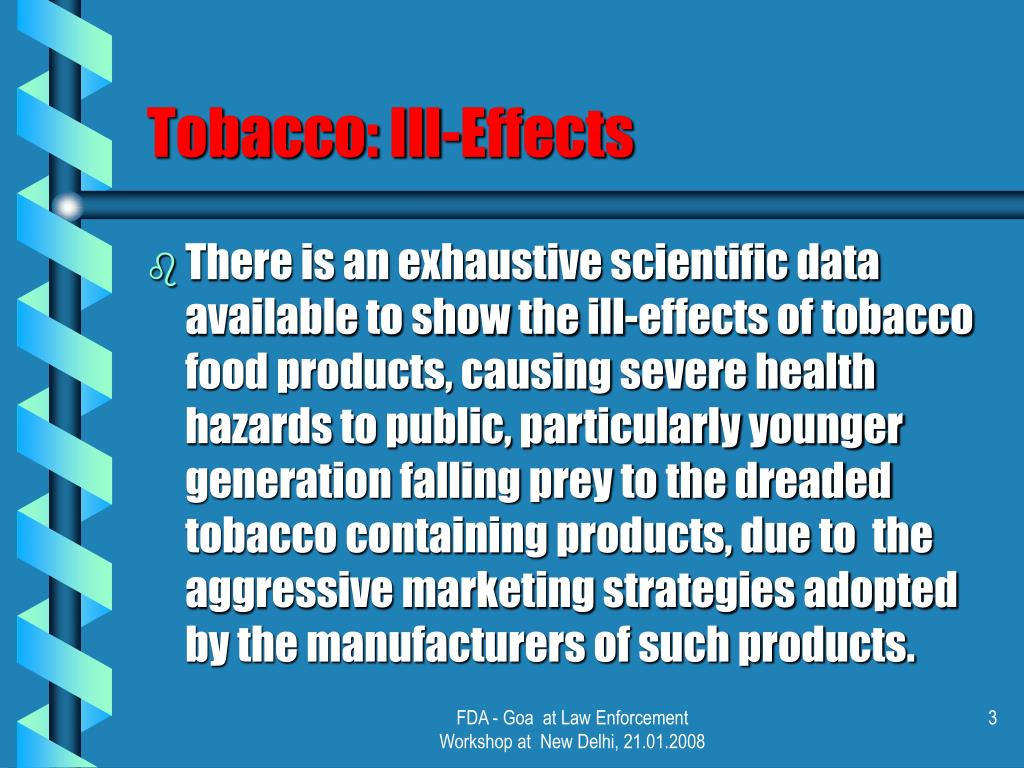 Tobacco: Ill-Effects