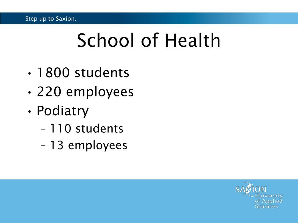 School of Health