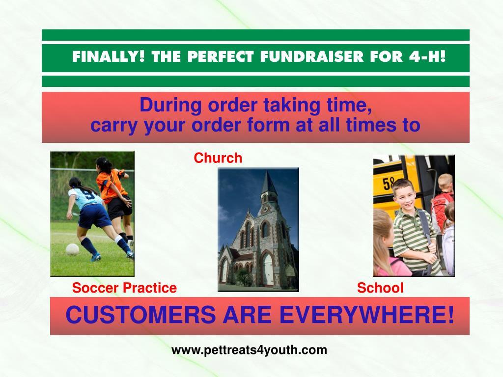 During order taking time,