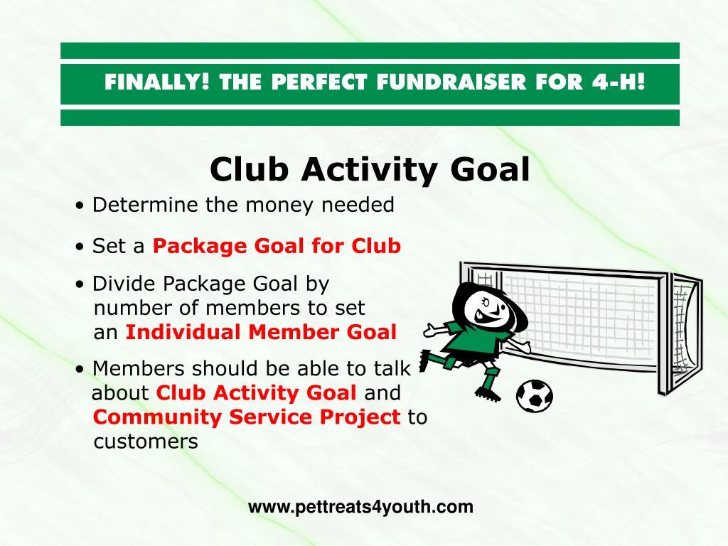 Club Activity Goal