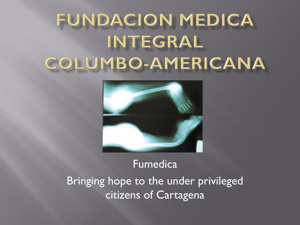 fundacion medica integral columbo americana