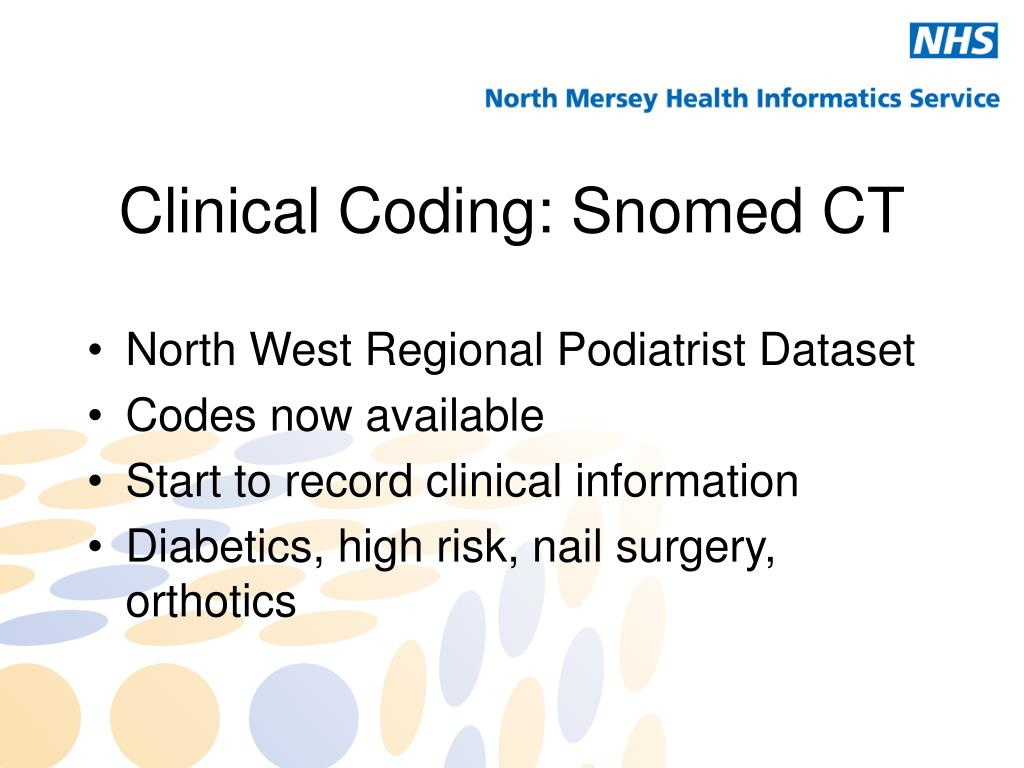 Clinical Coding: Snomed CT