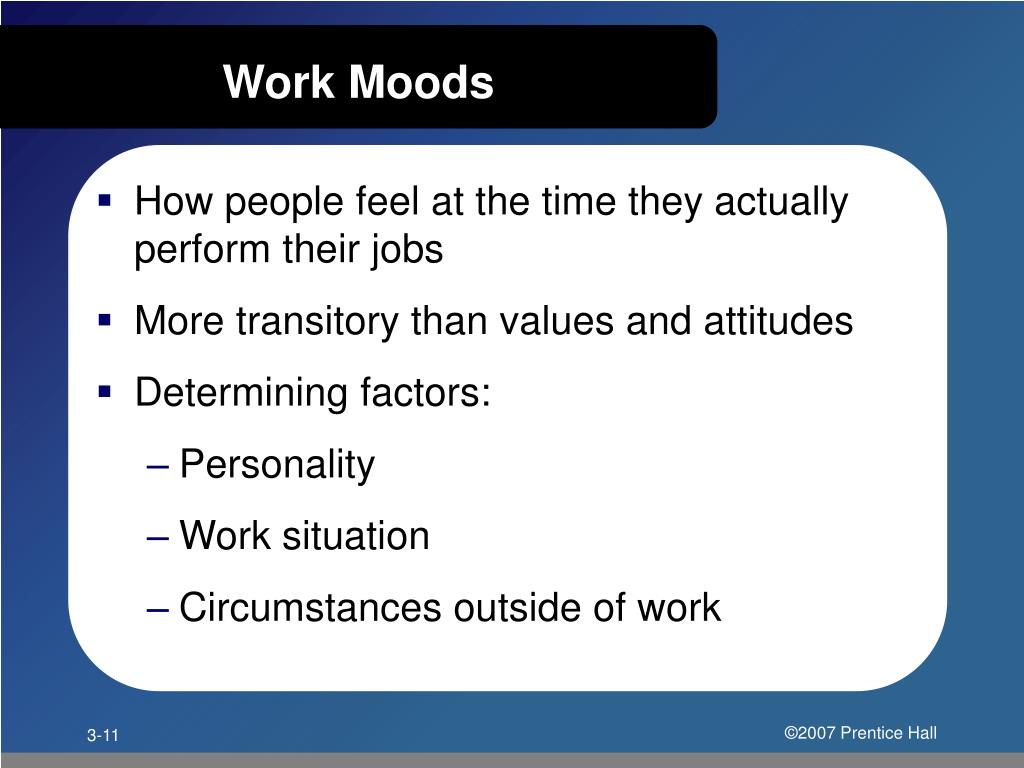 Work Moods