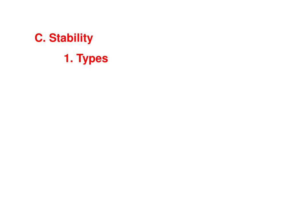 C. Stability