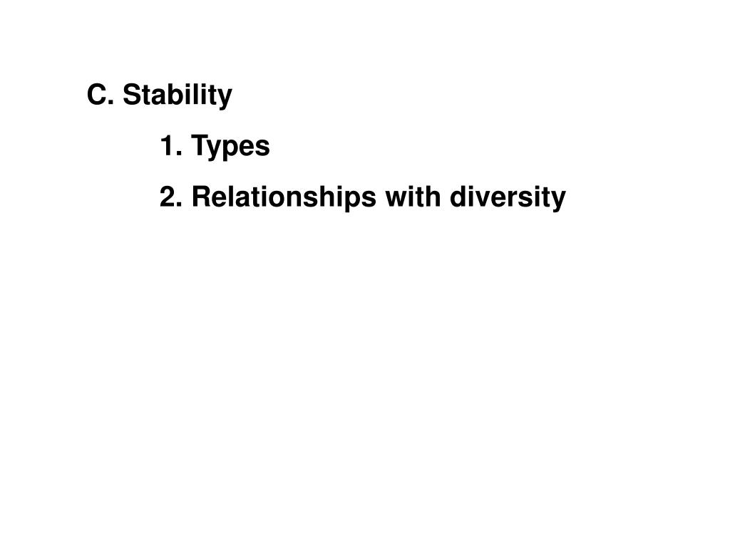 C. Stability