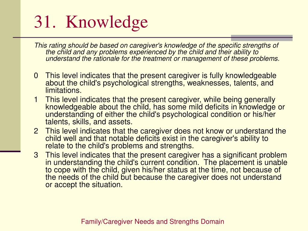 31.  Knowledge