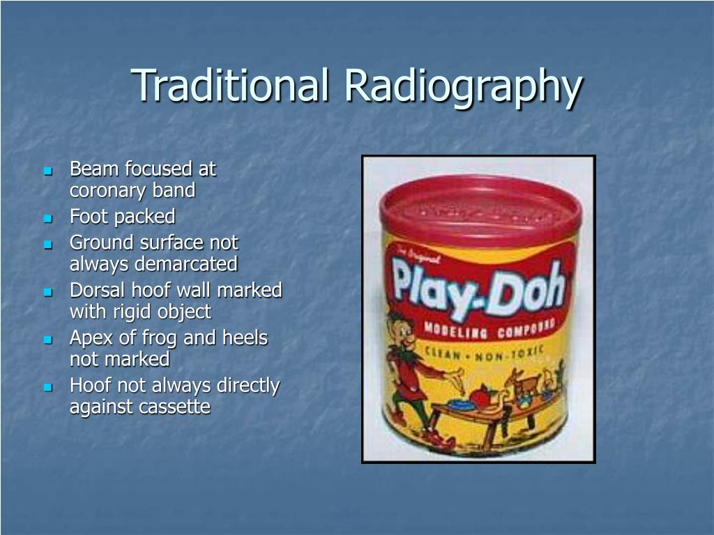 Traditional Radiography