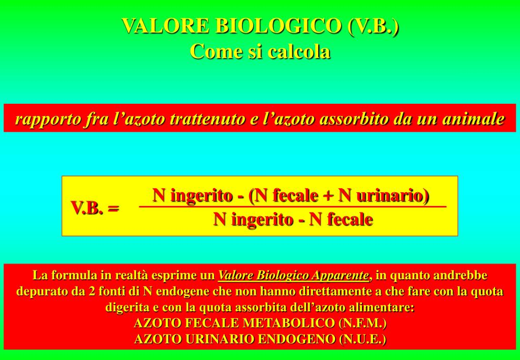 N ingerito - (N fecale + N urinario)