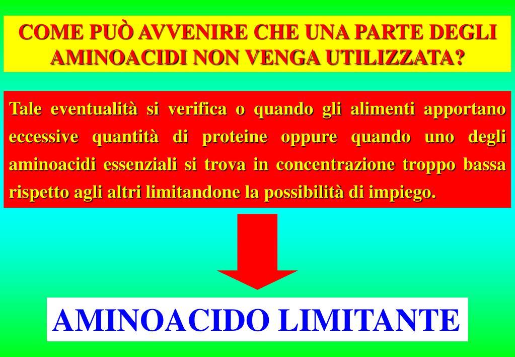 AMINOACIDO LIMITANTE