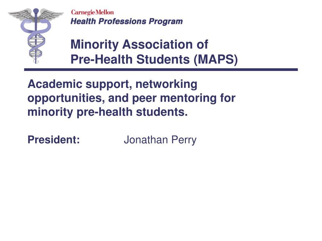 Minority Association of
