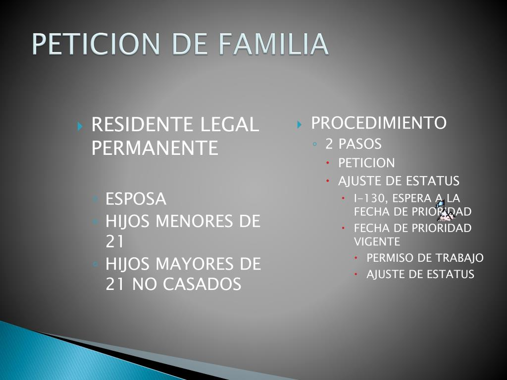 RESIDENTE LEGAL PERMANENTE
