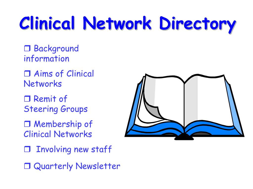Clinical Network Directory