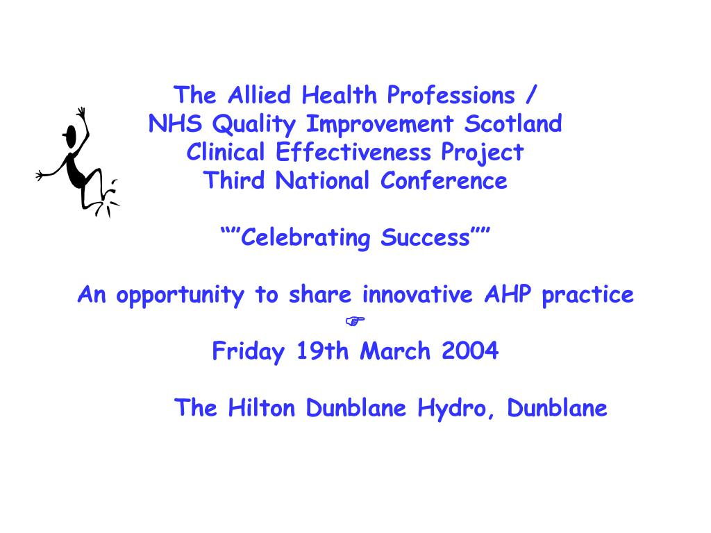 The Allied Health Professions /