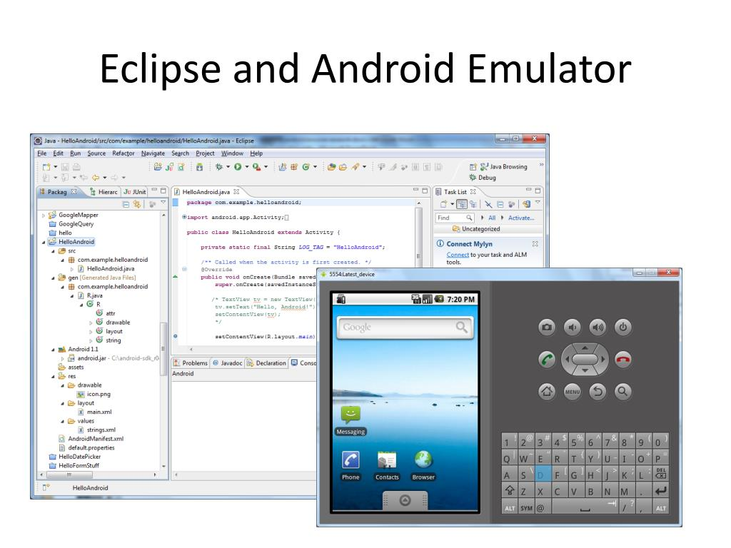 Eclipse and Android Emulator