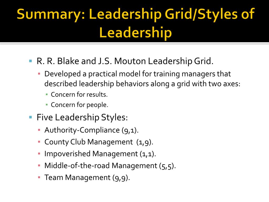 a overview of leadership style Give an overview of your leadership style in the next paragraph this may be a style identified by a leadership author, or it could be one you created list the characteristics that define you as a leader.