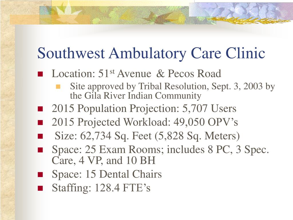 Southwest Ambulatory Care Clinic