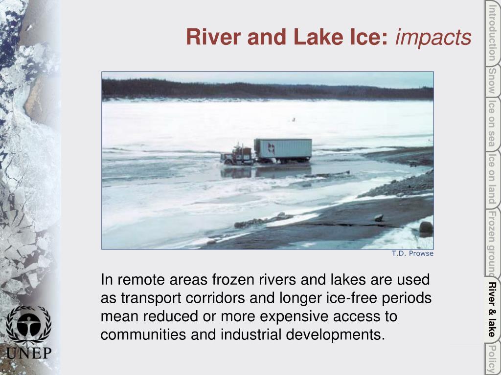 River & lake