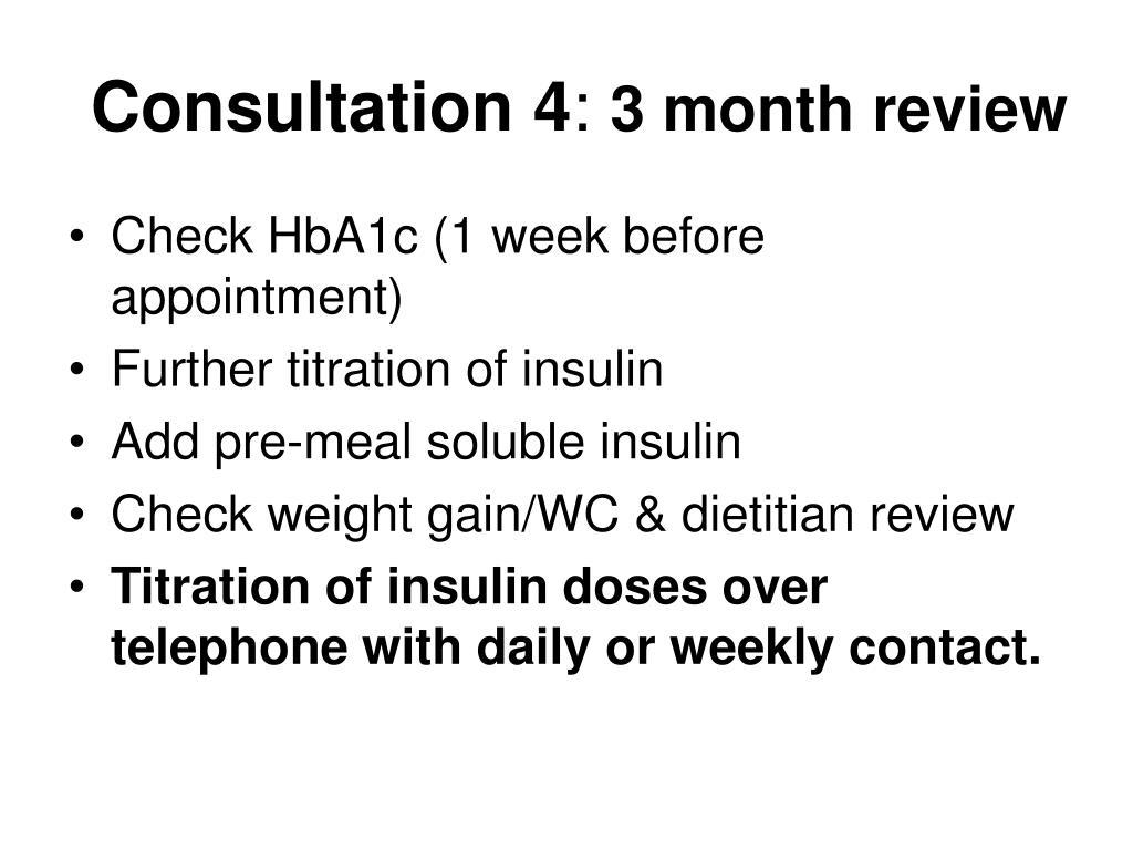 Consultation 4