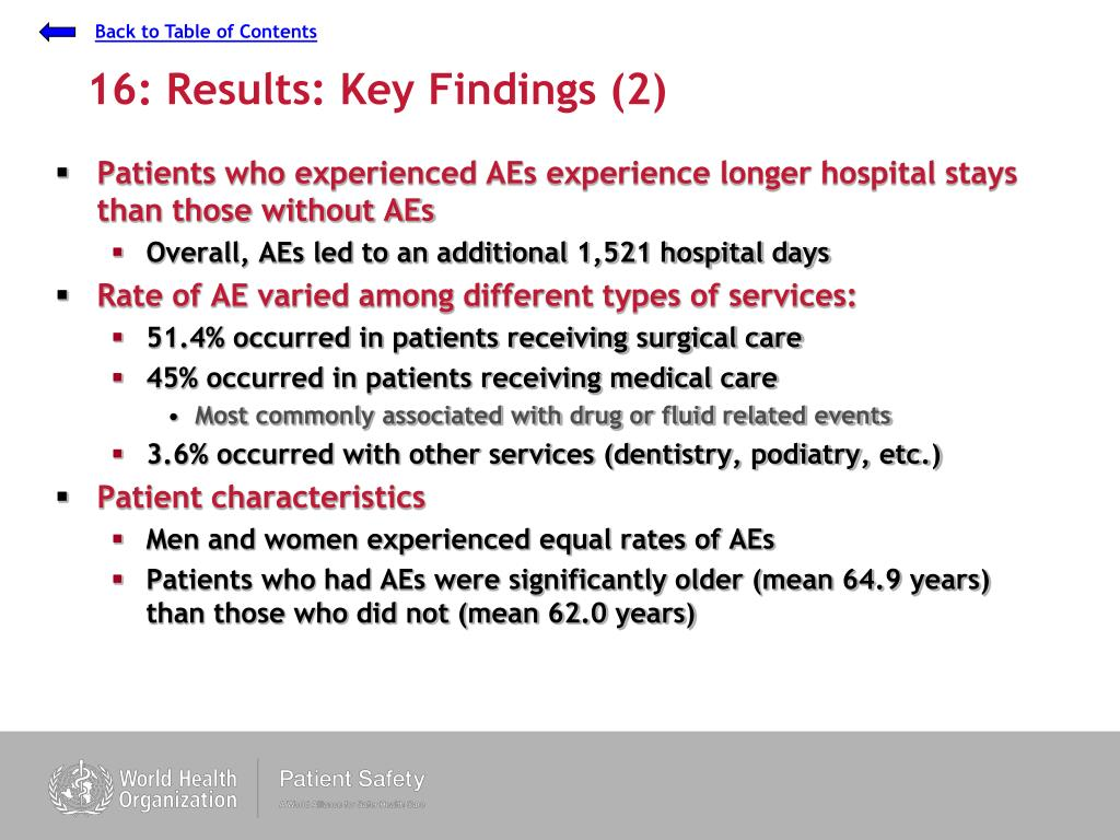 16: Results: Key Findings (2)