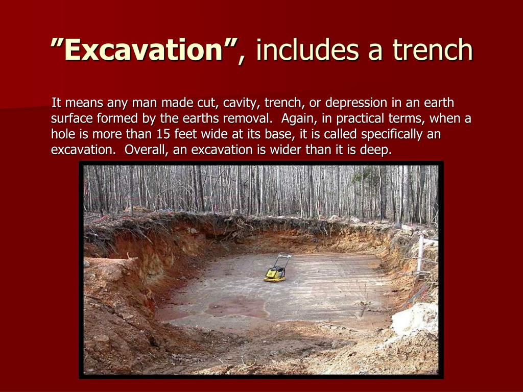 """""""Excavation"""""""