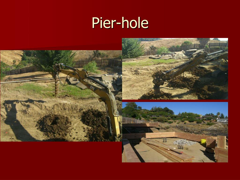 Pier-hole