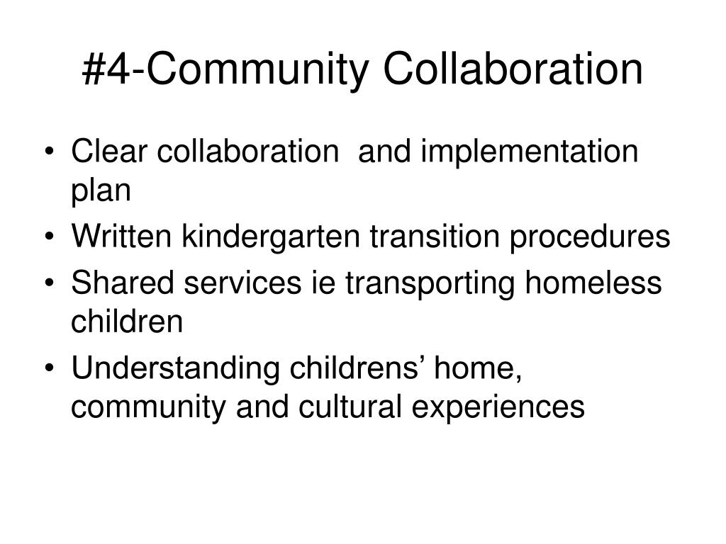 #4-Community Collaboration