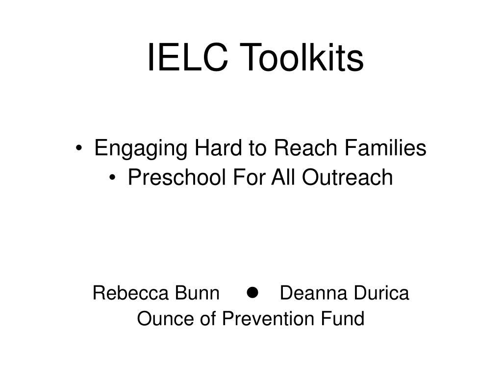 IELC Toolkits