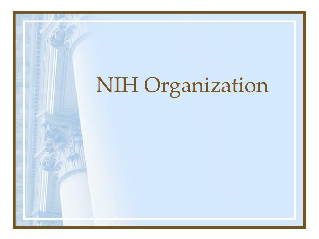 NIH Organization