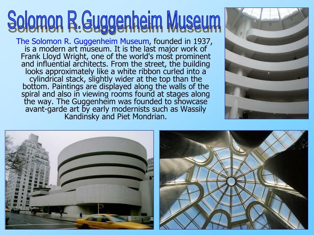 Solomon R.Guggenheim Museum