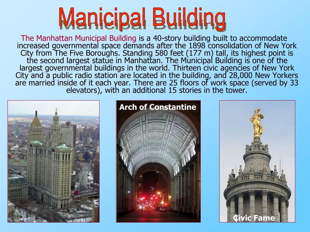 Manicipal Building